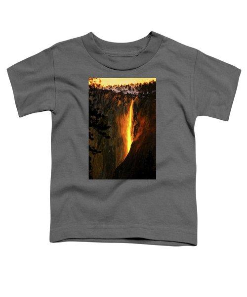 Yosemite Firefall Toddler T-Shirt