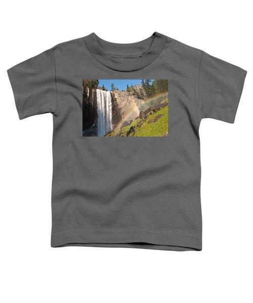 Yosemite Mist Trail Rainbow Toddler T-Shirt