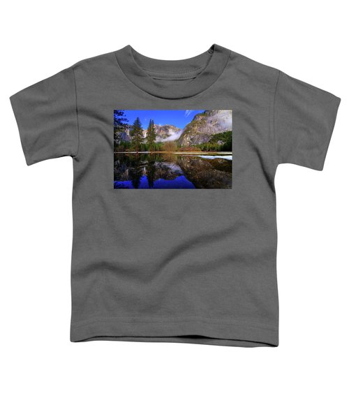 Yosemite Winter Reflections Toddler T-Shirt
