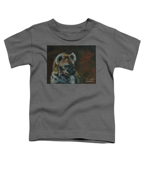 You Don't See Me Laughing......hyena Toddler T-Shirt