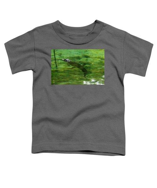 Young Alligator Toddler T-Shirt
