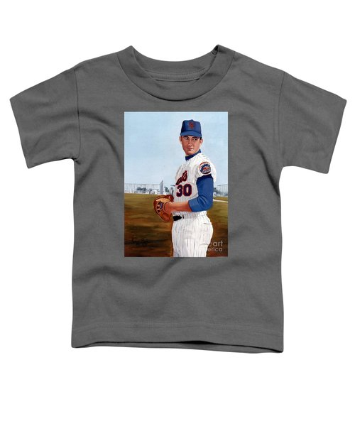 Young Nolan Ryan - With Mets Toddler T-Shirt