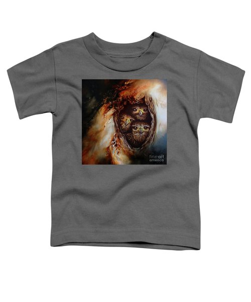 Young Owls Toddler T-Shirt