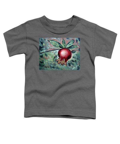 Young Pomegranate Toddler T-Shirt