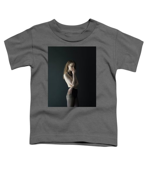 Young Woman In Pantyhose Toddler T-Shirt