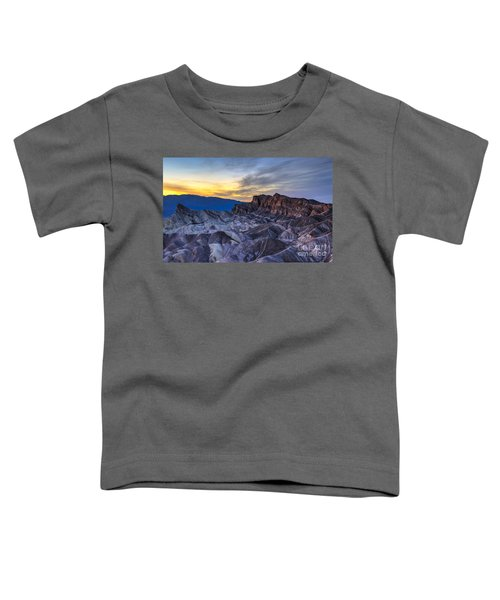 Zabriskie Point Sunset Toddler T-Shirt