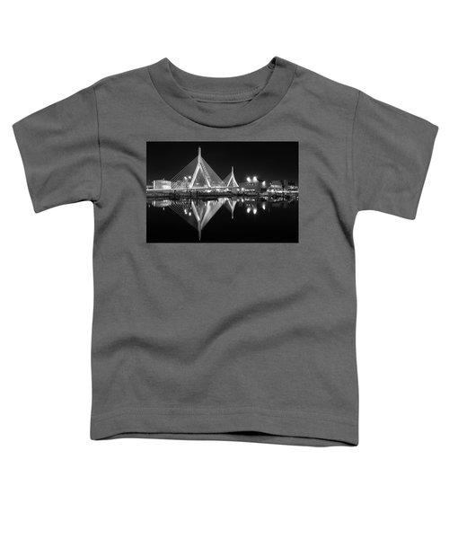 Zakim Bridge From Lovejoy Wharf Toddler T-Shirt