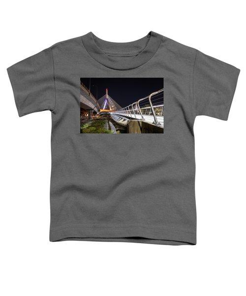 Zakim Bridge Walkway Toddler T-Shirt