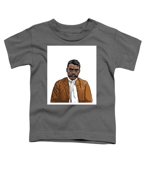 Toddler T-Shirt featuring the digital art Zapata by Antonio Romero