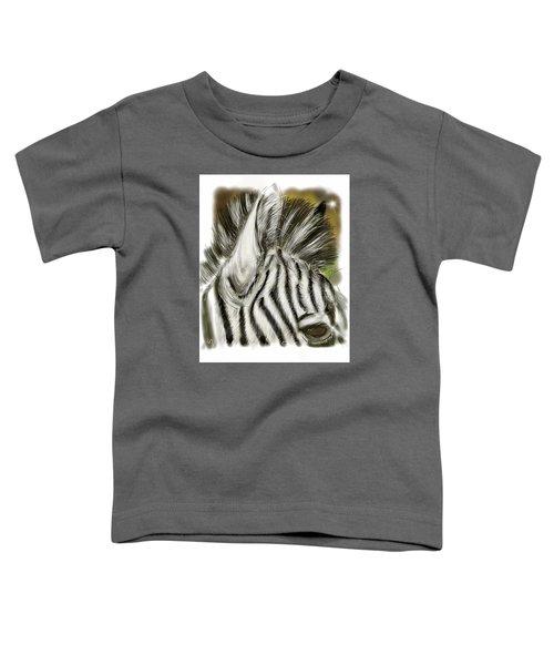 Zebra Digital Toddler T-Shirt