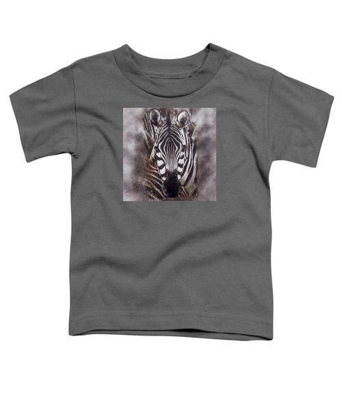 Zebra Splash Toddler T-Shirt