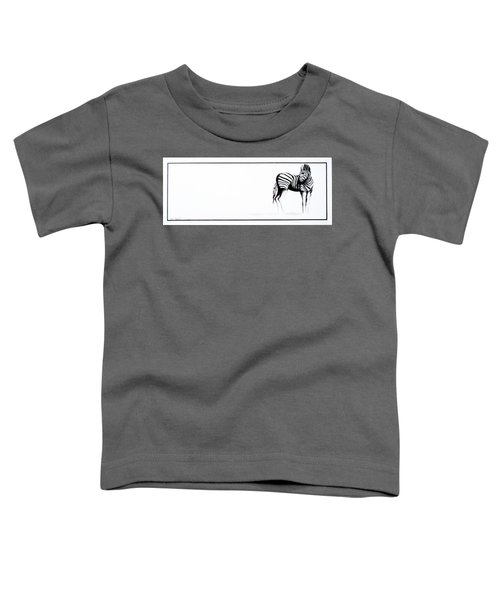 Zebra3 Toddler T-Shirt
