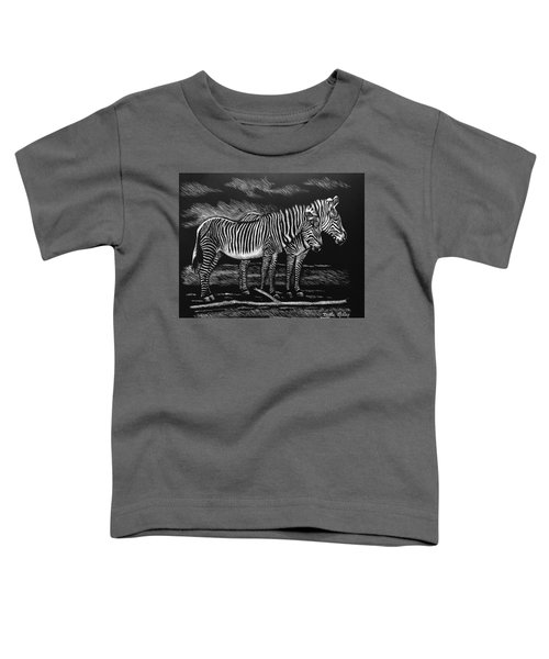 Zebras Toddler T-Shirt