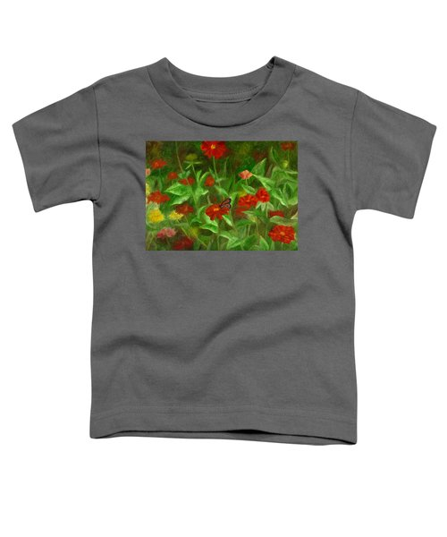 Zinnias Toddler T-Shirt
