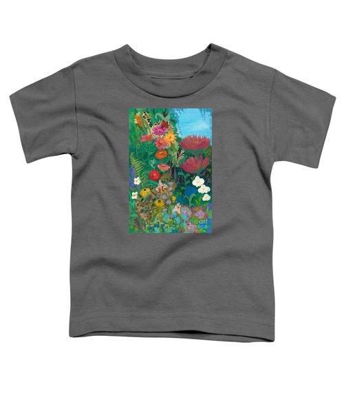 Zinnias Garden Toddler T-Shirt