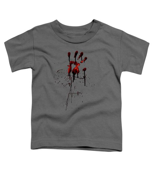 Zombie Attack - Bloodprint Toddler T-Shirt