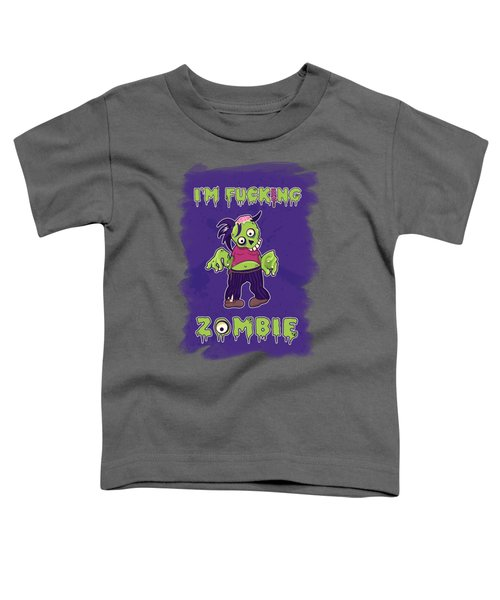Zombie Toddler T-Shirt