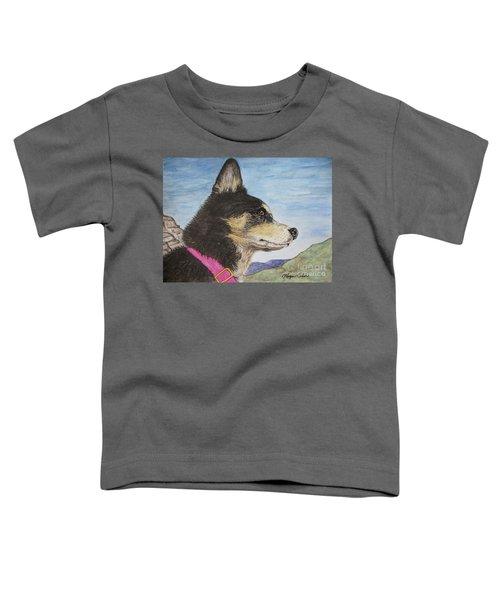 Zuma Toddler T-Shirt by Megan Cohen