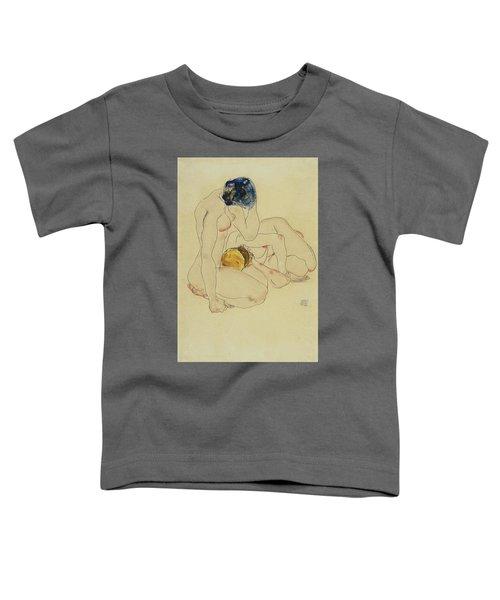Zwei Freundinnen - Two Friends Toddler T-Shirt