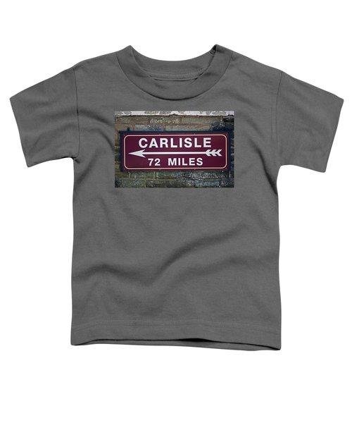 06/06/14 Settle. Period Destination Board. Toddler T-Shirt