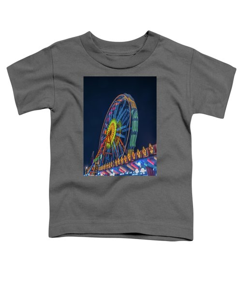 Big Wheel-2 Toddler T-Shirt