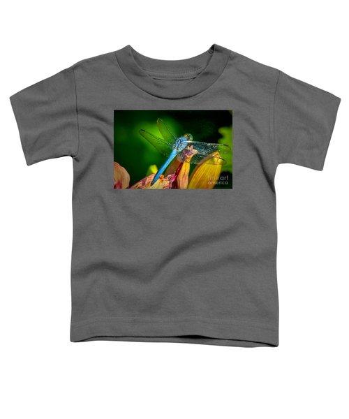 Blue Dragonfly Toddler T-Shirt