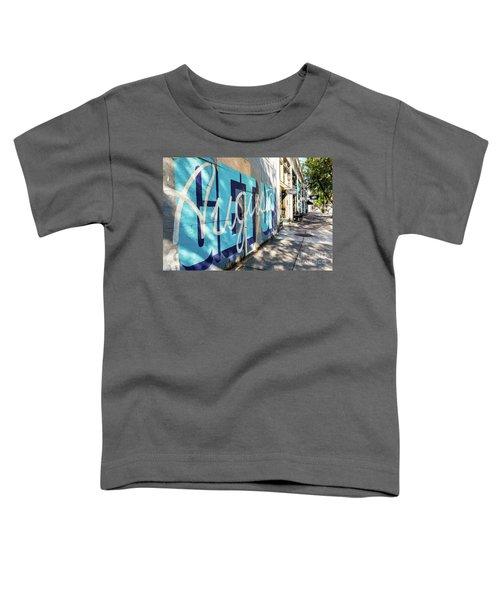 Broad Street Downtown Augusta Ga Toddler T-Shirt