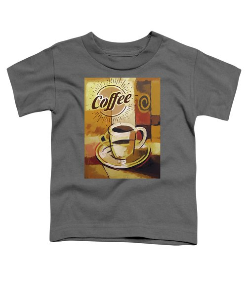 Coffee Poster Toddler T-Shirt