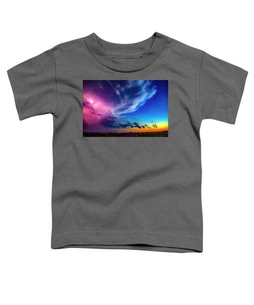 Epic Nebraska Lightning 007 Toddler T-Shirt