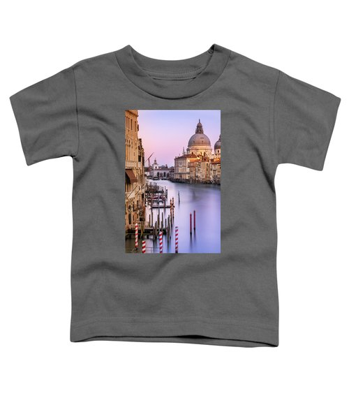 Evening Light In Venice Toddler T-Shirt