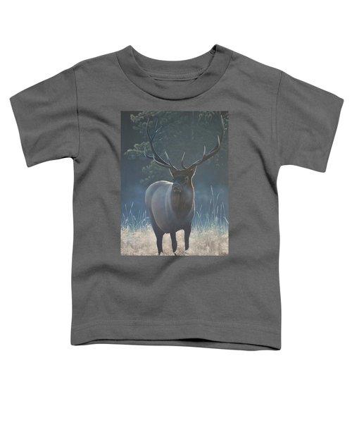First Light - Bull Elk Toddler T-Shirt