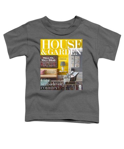 House And Garden September Toddler T-Shirt