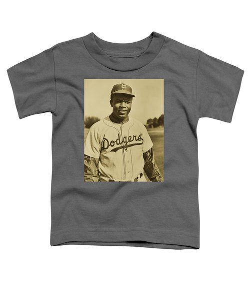 Jackie Robinson 1950 Toddler T-Shirt