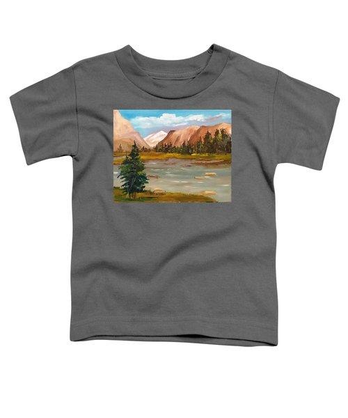 Mountain View Toddler T-Shirt