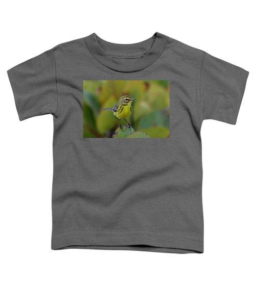 Prairie Warbler Toddler T-Shirt