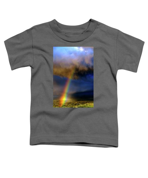 Rainbow During Sunset Toddler T-Shirt