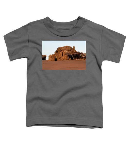 Rock Formations And Abandoned Building Toddler T-Shirt