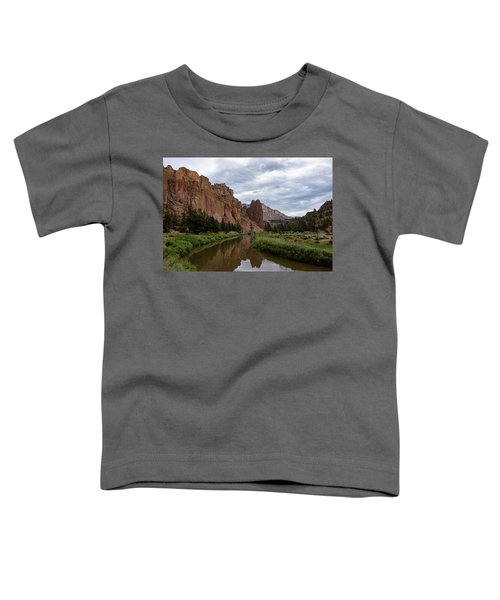 Smith Rock Reflections Toddler T-Shirt