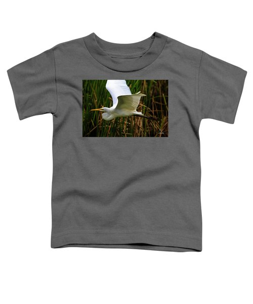 Snow White In Flight Toddler T-Shirt