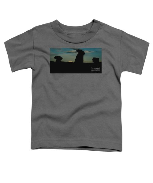 Turkish Landscapes With Snowy Mountains In The Background Toddler T-Shirt