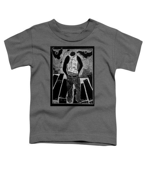 Walking While Black. Toddler T-Shirt
