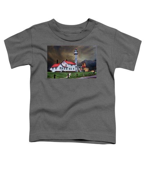 Whitefish Point Lighthouse Toddler T-Shirt