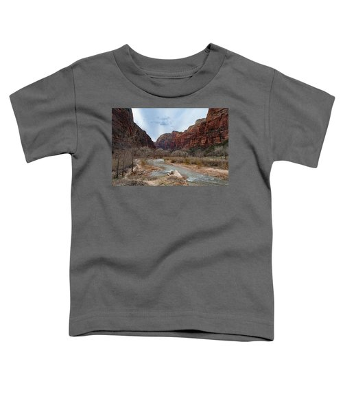Zion Canyon Toddler T-Shirt