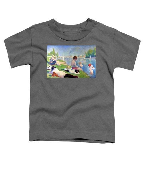 Bathers At Asnieres Toddler T-Shirt