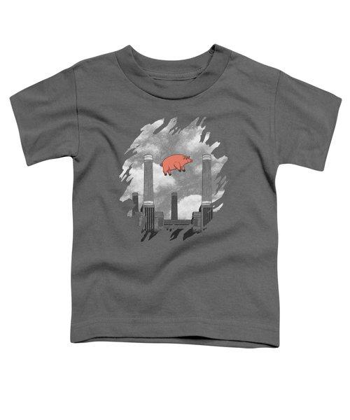 Pink Floyd Pig At Battersea Toddler T-Shirt