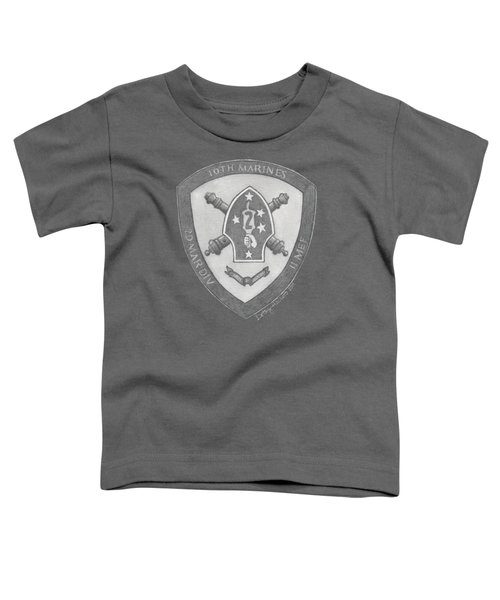 10th Marines Crest Toddler T-Shirt
