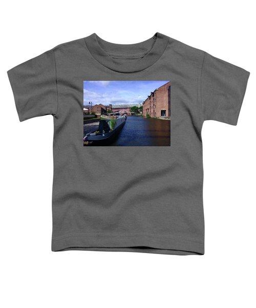 13/09/18  Manchester. Castlefields. The Bridgewater Canal. Toddler T-Shirt
