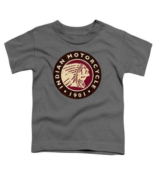 1901 Indian Motorcycle Logo - T-shirt Toddler T-Shirt