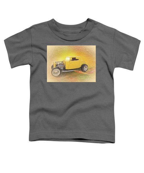 1932 Ford Coupe Yellow Toddler T-Shirt