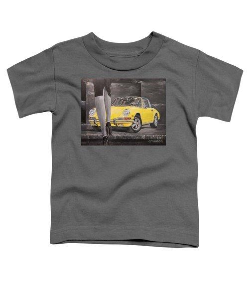 1968 Porsche 911 Targa Toddler T-Shirt